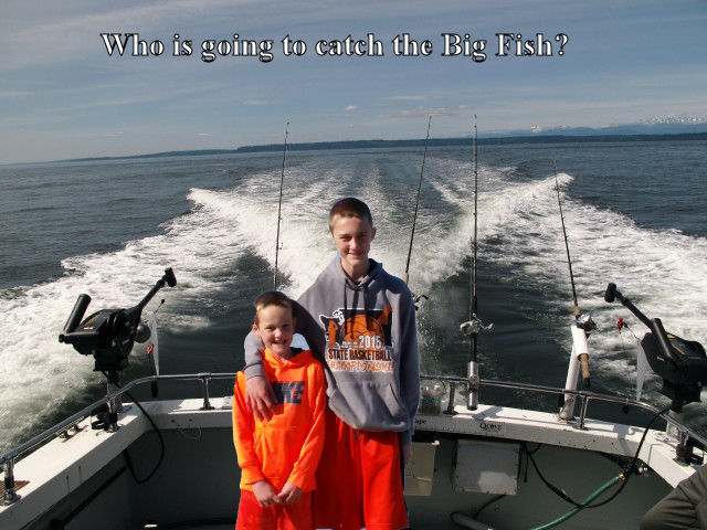 Seattle Fishing Noah Caden